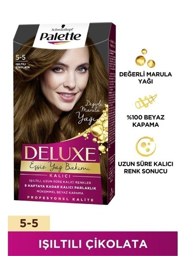 Palette Palette Deluxe 5-5 Işıltılı Çikolata50 Tr Renkli